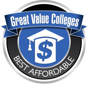 cheap online colleges ranking badge