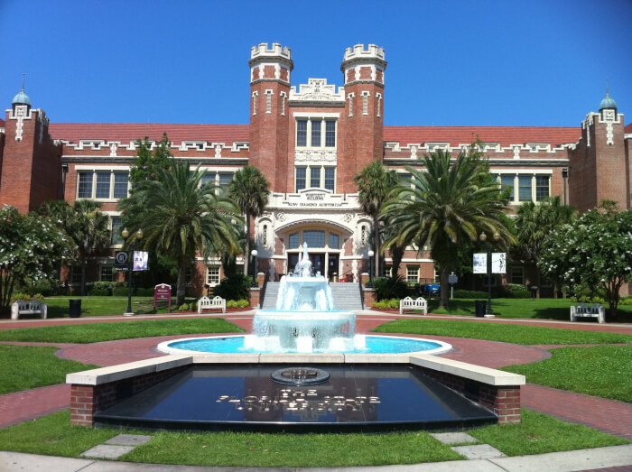 What is an acceptable SAT score for admission to the University of Florida?