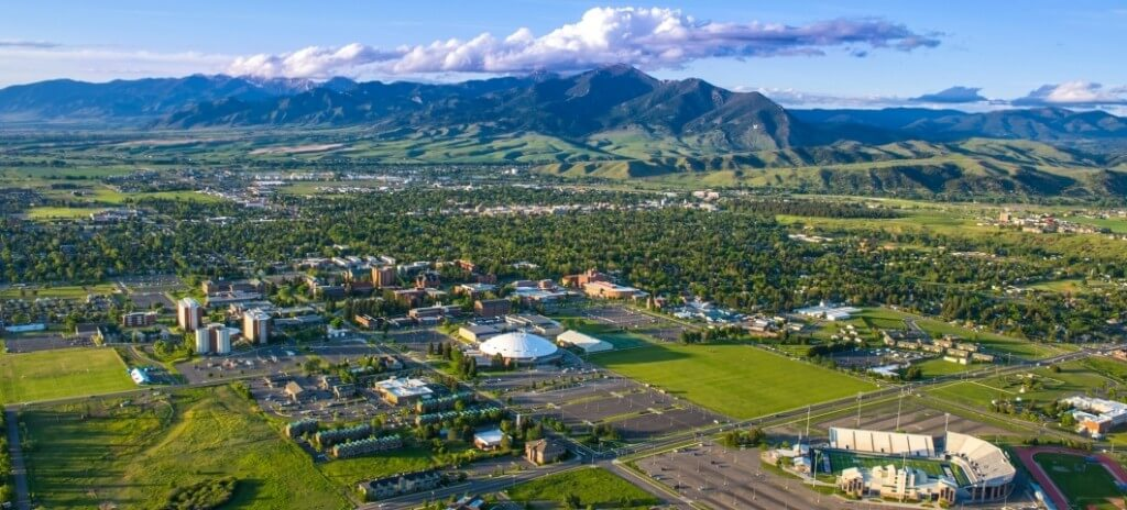 35 great value colleges with beautiful campuses great for Cost to build a house in bozeman mt