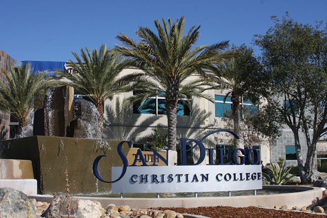San Diego Christian College - online degrees California