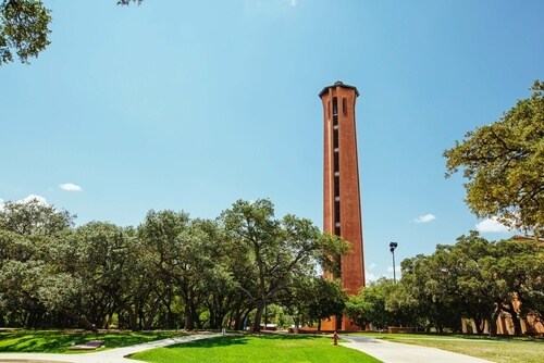 Trinity University - online schools in Texas San Antonio