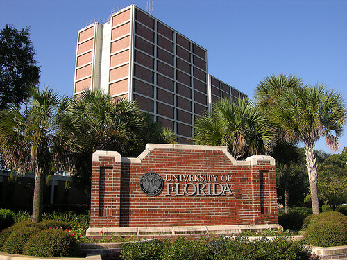 Top 10 online colleges in florida jacksonville great for Best housing at uf