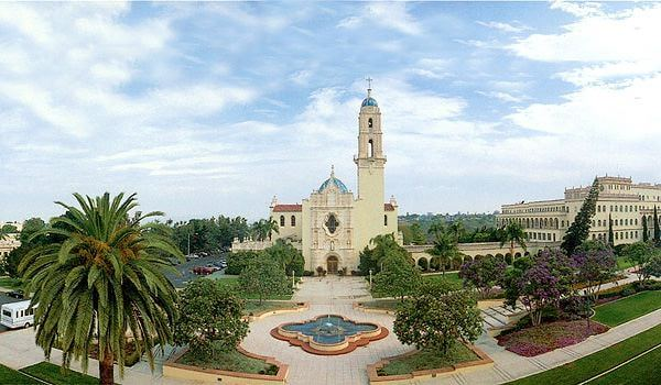 University of San Diego - online degrees California