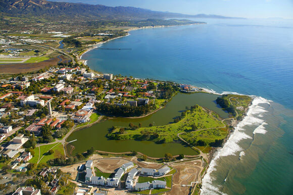 University California Santa Barbara Est Colleges Most Beautiful College Campuses