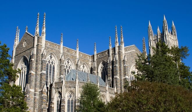 Duke University - 10 Online Degrees Raleigh
