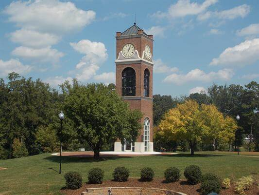 Gardner Webb University - 10 Online Degrees Raleigh