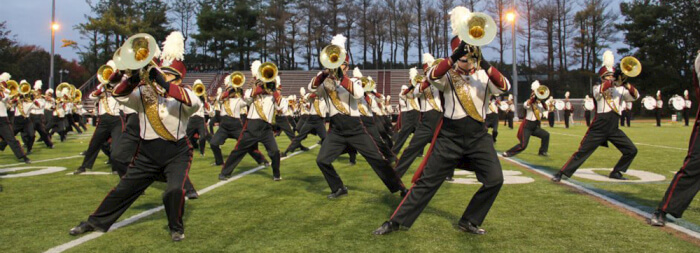 umass amherst university of massachusetts top college marching bands