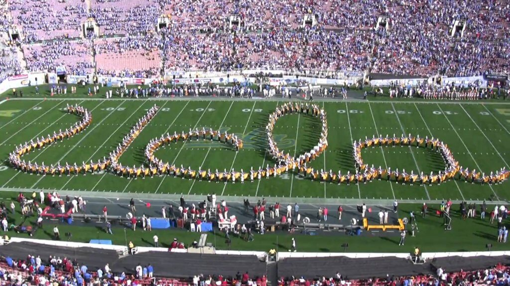 UCLA bruin marching band university california los angeles best college marching bands
