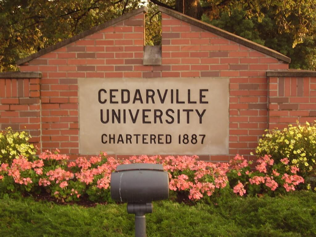 cedarville university online christian colleges and universities