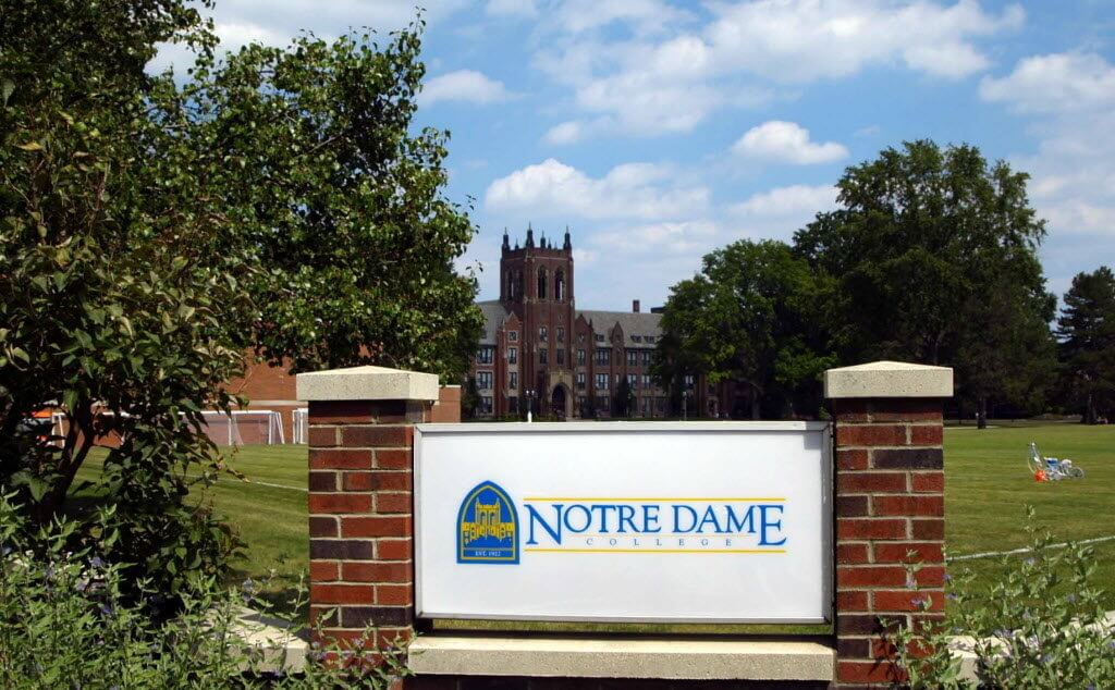notre dame college online accredited christian colleges