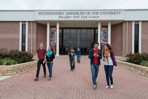 southwestern assemblies of god university christian colleges online degrees