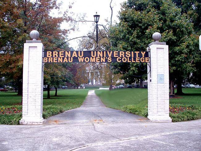 Brenau University best colleges business school rankings