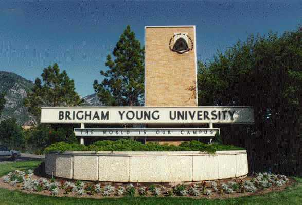 Brigham Young University top online christian college degrees