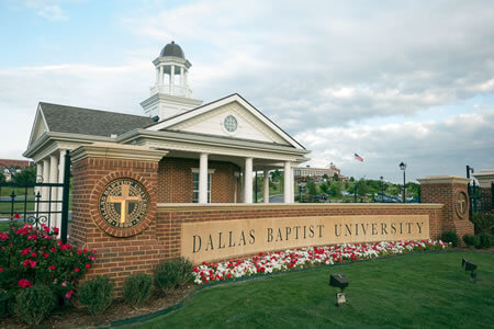 Dallas Baptist University top online colleges hospitality degree