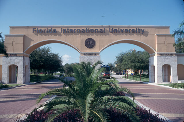 Florida International University online hospitality degree program