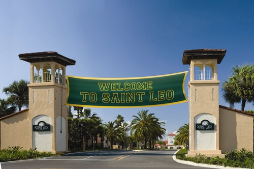 Saint Leo University best online college degree program
