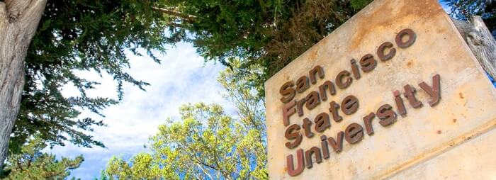 San Francisco State University top online colleges and universities