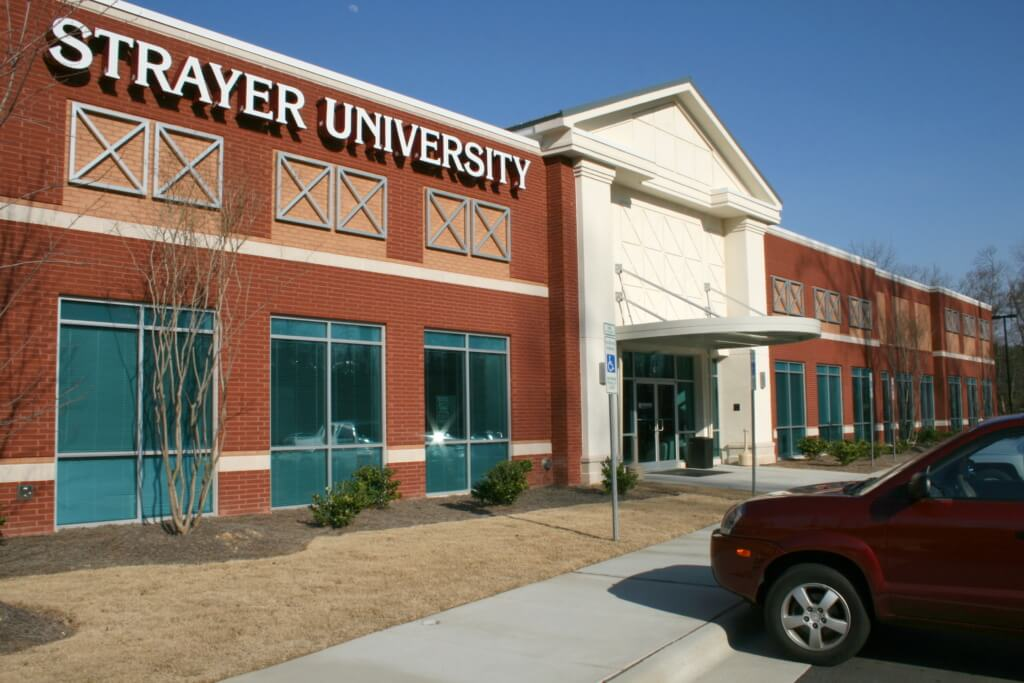 Strayer University best online college degree program