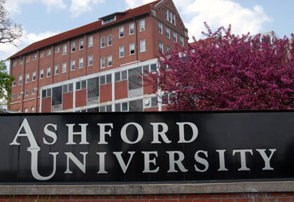 Ashford University top online colleges ranking health care degree