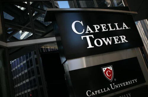 capella university healthcare administration degree online