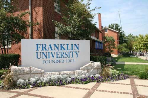Franklin University best schools for healthcare administration