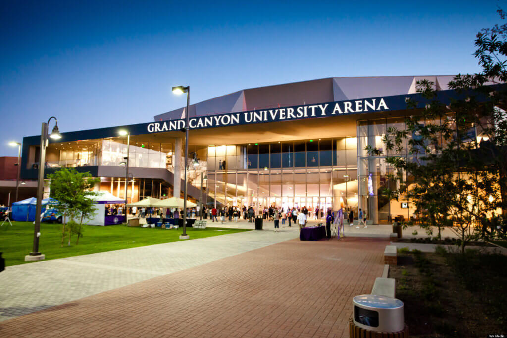 Grand Canyon University online healthcare management best schools health services degrees