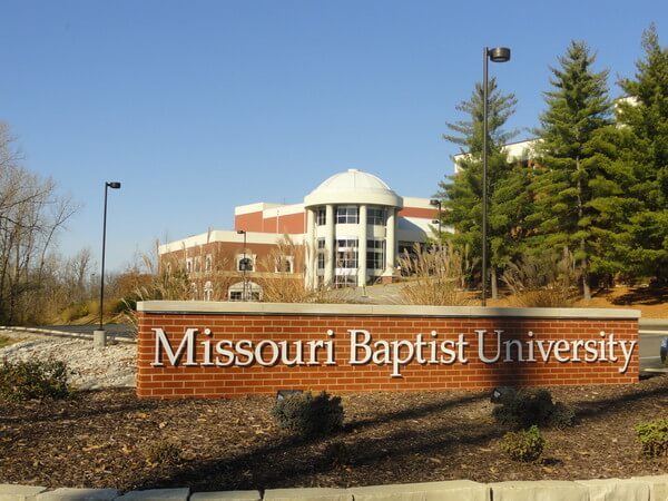 Missouri Baptist University health care services management best online college