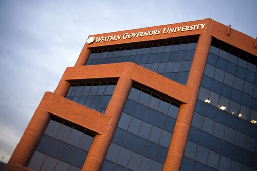 western governors university online health care administration degree