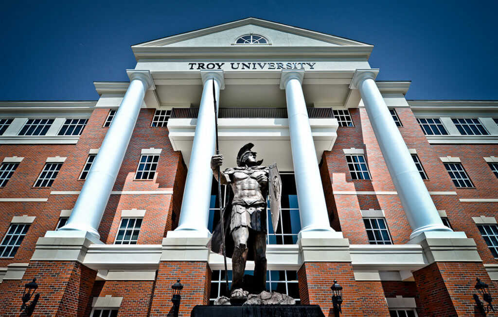 troy university great online colleges