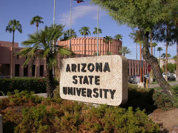 Arizona State University affordable online colleges for religion