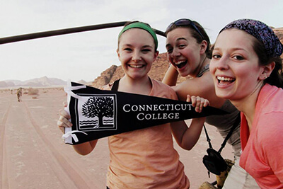 connecticut college traveling in europe intership