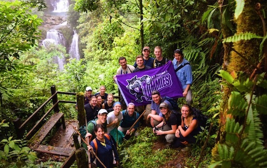 university of St. thomas spring break study abroad