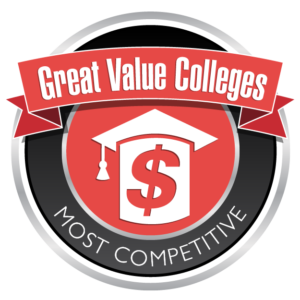 Great Value Colleges - Most Competitive