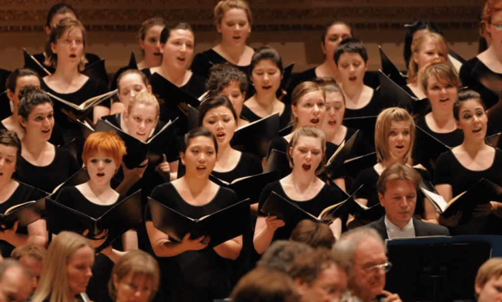 westminster choir college best BM in vocal performance