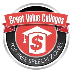 Great Value Colleges - Top Free Speech Zones-01