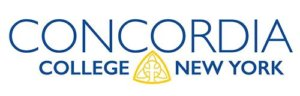The logo for Concordia college which placed fourth in our ranking of best colleges in nyc