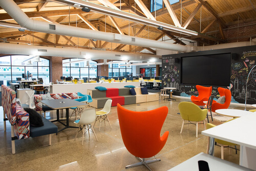 Cutting Edge College Collaborative Spaces
