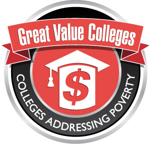 Colleges Addressing Poverty Badge